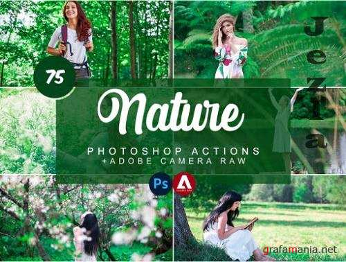 CreativeMarket - Nature Photoshop Actions
