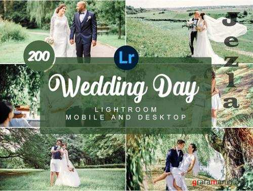 Wedding Day Mobile and Desktop Presets