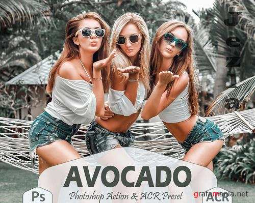 10 Avocado Photoshop Actions And ACR Presets