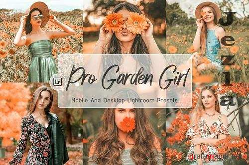 10 Pro Garden Girl Decktop And Mobile Lightroom Presets - 1217627