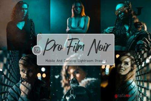 07 Pro Film Noir Mobile and Desktop Lightroom Presets