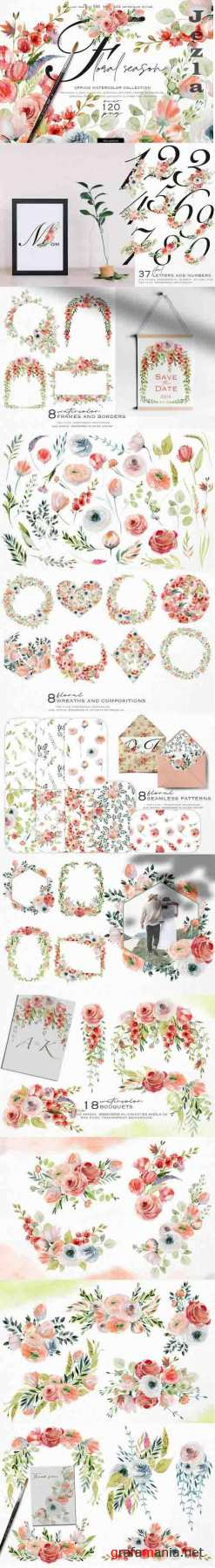Floral season collection - 1232348