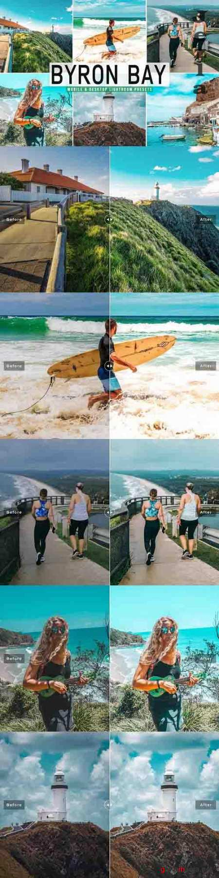 Byron Bay Pro Lightroom Presets - 5928745