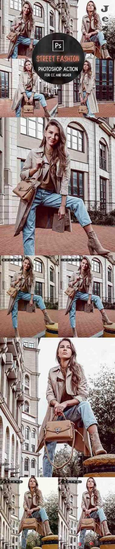GraphicRiver - Street Fashion - Photoshop Action 29950944