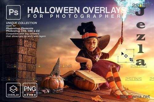 Halloween clipart Halloween overlay, Photoshop overlay V33 - 1132993