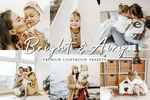 CreativeMarket - Bright Natural Lightroom Presets 5799653
