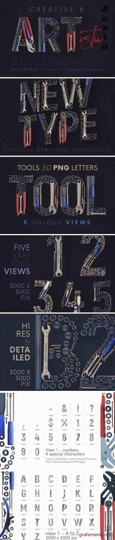 Tools - 3D Lettering - 5878968