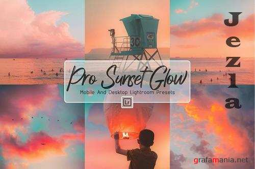 10 Pro Sunset Glow Desktop And Mobile Lightroom Presets - 1244624