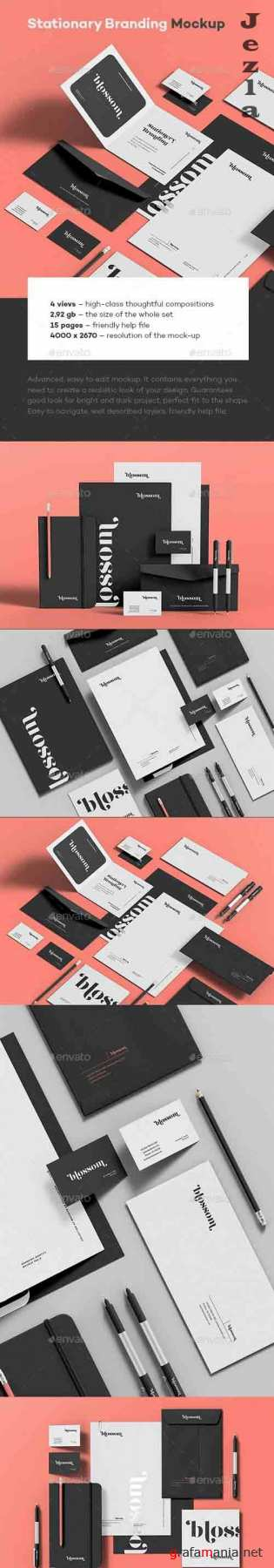 GraphicRiver - Stationary Branding Mock-up 9 30743894