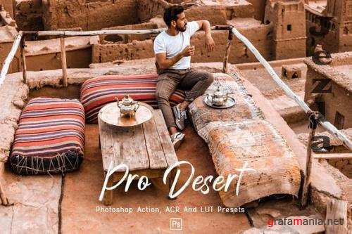 10 Pro Desert Photoshop Actions, ACR, LUT