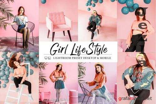 10 Girl Lifestyle Mobile & Lightroom Presets
