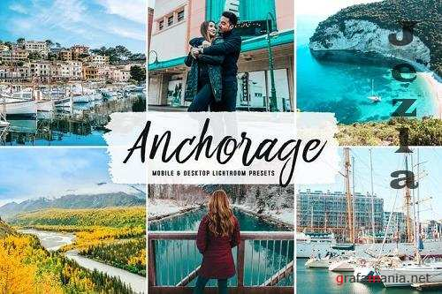 Anchorage Mobile & Desktop Lightroom Presets