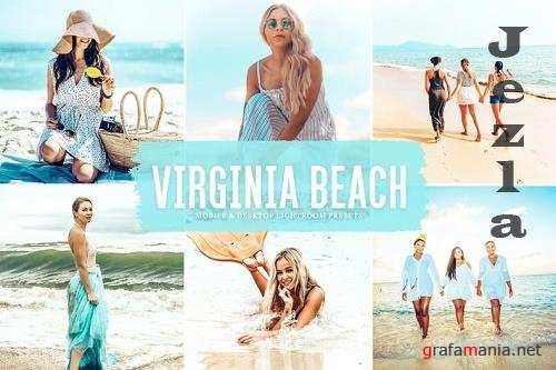 Virginia Beach Mobile & Desktop Lightroom Presets
