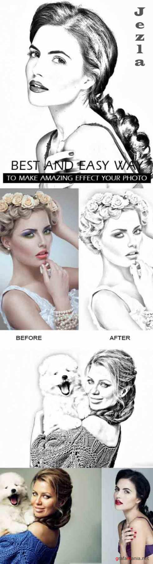 GraphicRiver - Sketch Art Photoshop Action 30781365