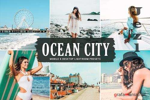 Ocean City Pro Lightroom Presets - 6012832 - Mobile & Desktop