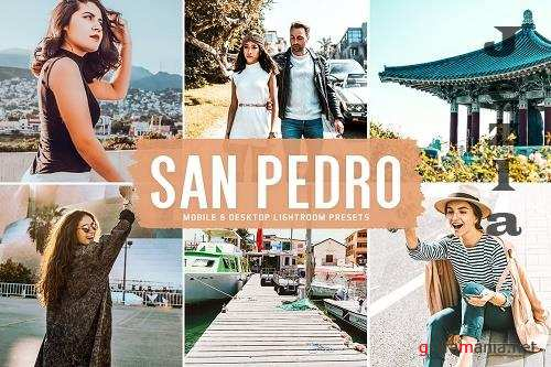 San Pedro Pro Lightroom Presets - 6013039 - Mobile & Desktop