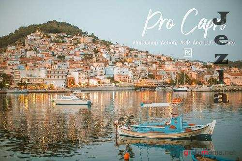 7 Pro Capri Photoshop Actions, ACR, LUT Presets - 1302962