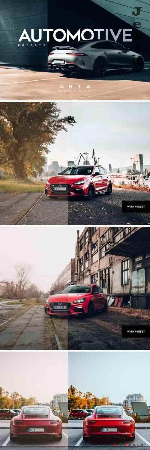 ARTA Automotive Presets For Mobile and Desktop