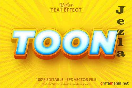 Toon text, Cartoon Style Editable Text Effect