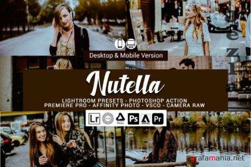 Nutella Lightroom Presets and Photoshop Actions