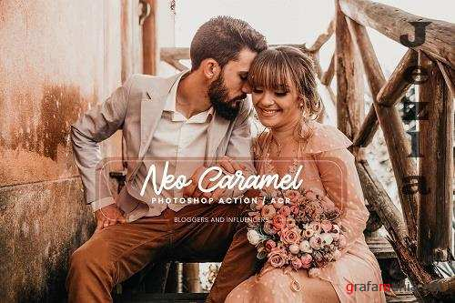 15 Photoshop Actions ACR Presets Neo Caramel - 1357744