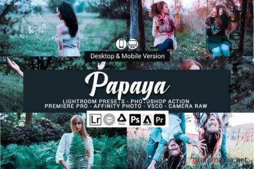 Papaya Lightroom Presets and Photoshop Actions