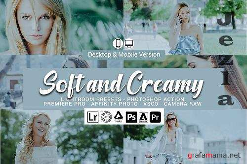 Soft and Creamy Lightroom Presets - 5157461