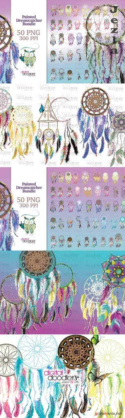 Painted Dreamcatcher Bundle - 1359986