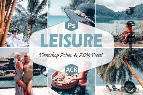10 Leisure Photoshop Actions