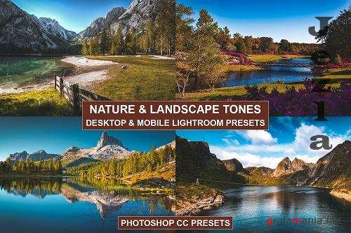Desktop and Mobile Lightroom Presets Nature Tones - 1367833